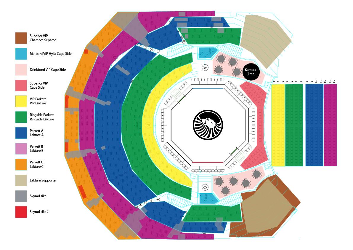Cirkus ArenaLayout Superior Challenge 17