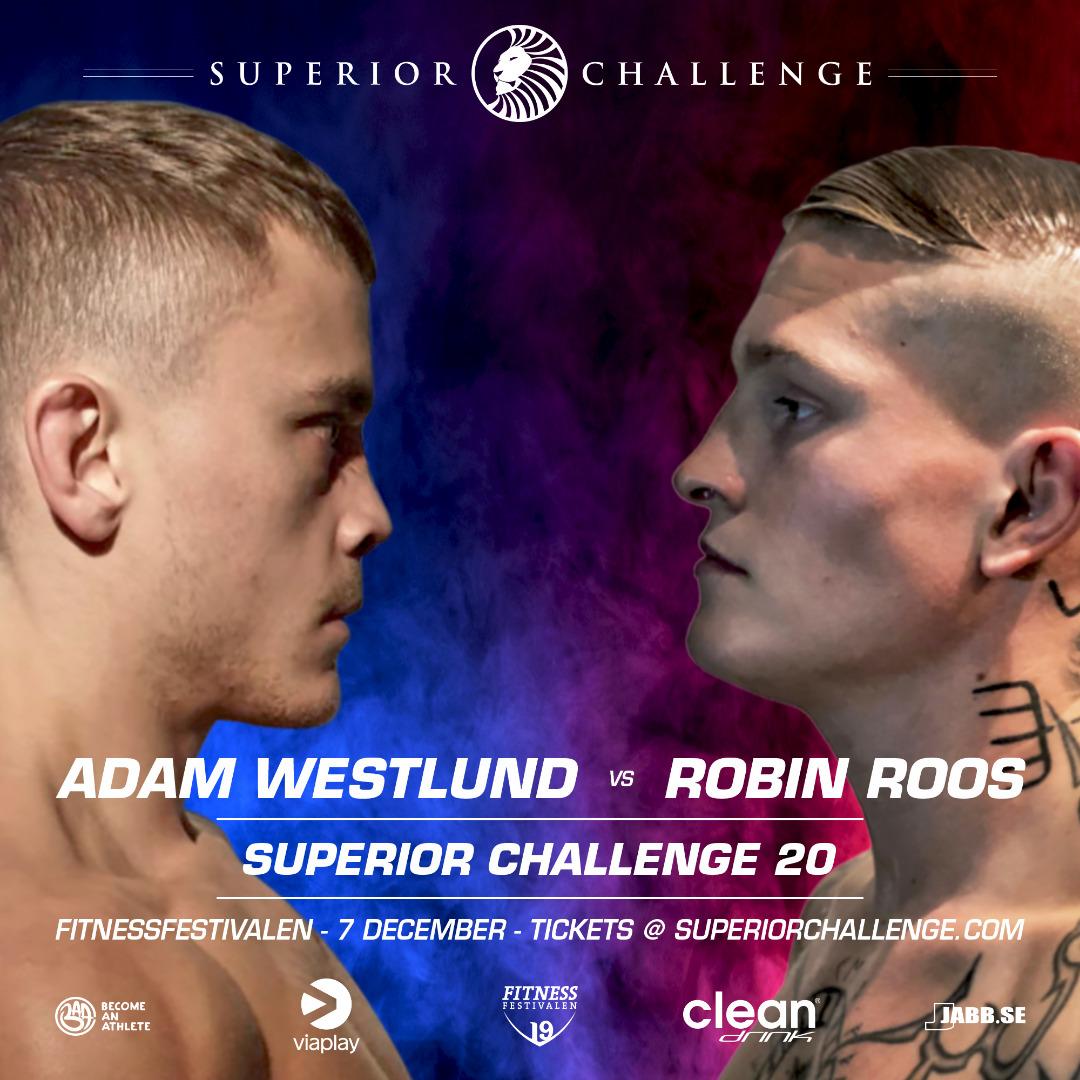 Adam Westlund vs Robin Roos - Superior Challenge 20 - Fitnessfestivalen