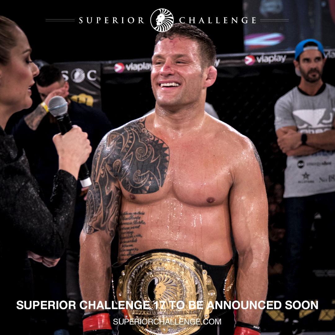 David Bielkheden Superior Challenge Champion