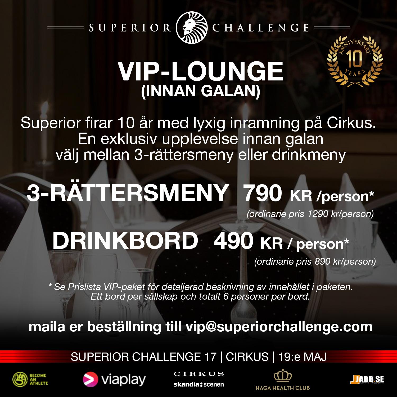 VIP-Lounge (innan galan)