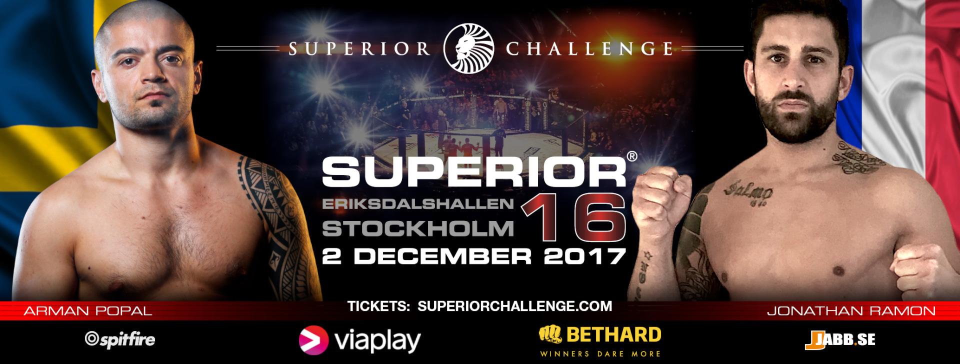 Arman Popal vs Jonathan Ramon Superior Challenge 16