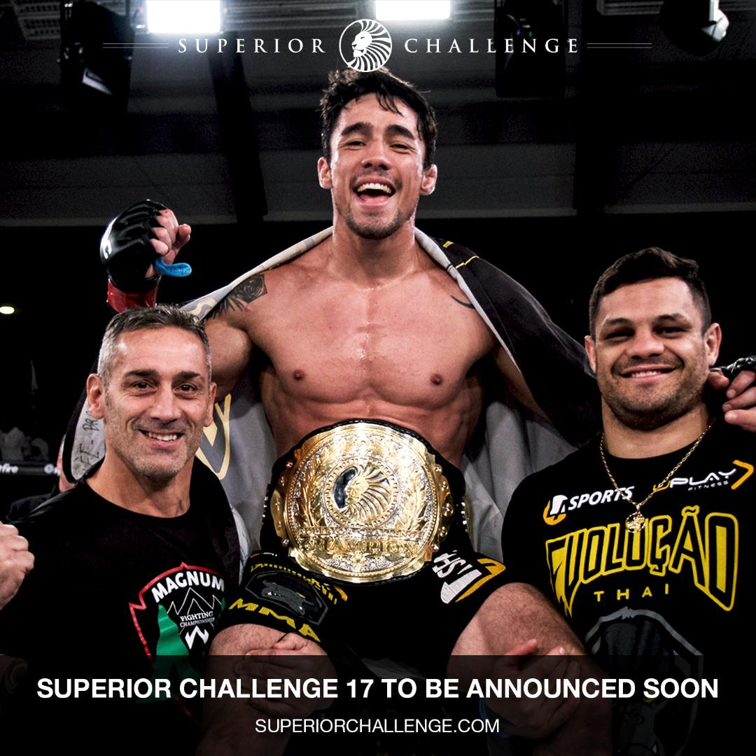 Diego Nunes Superior Challenge Champion
