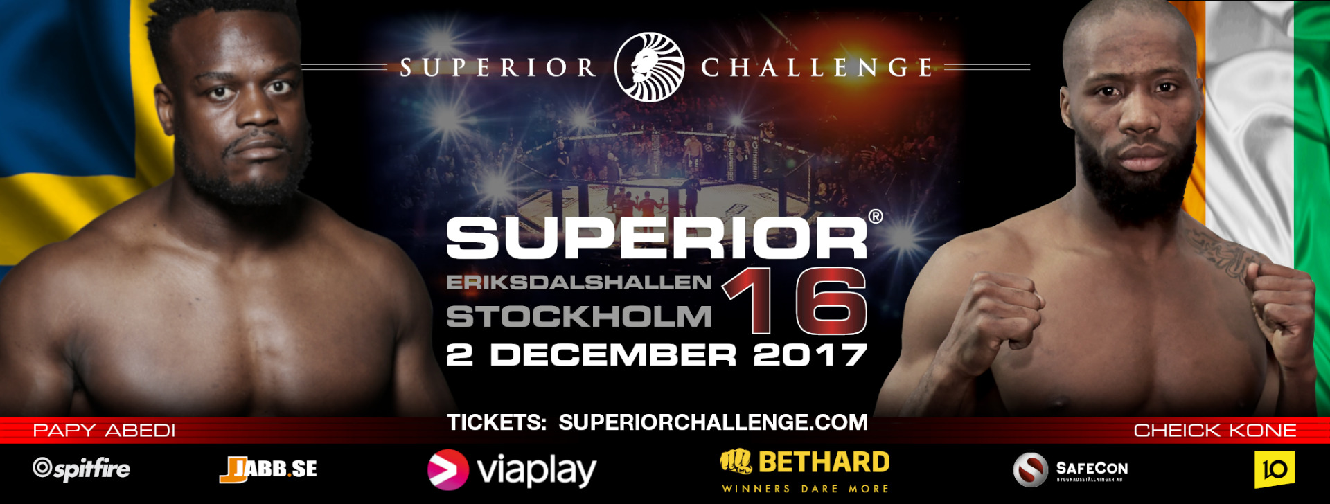 Two of Europe's most prominent Welterweights to clash at Superior Challenge 16