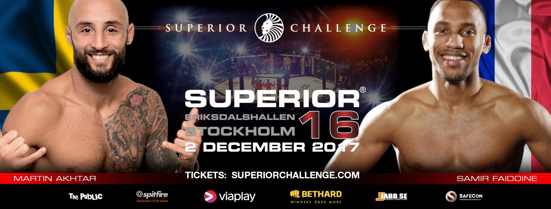 MArtin Akhtar vs Samir Faiddine Superior Challenge 16