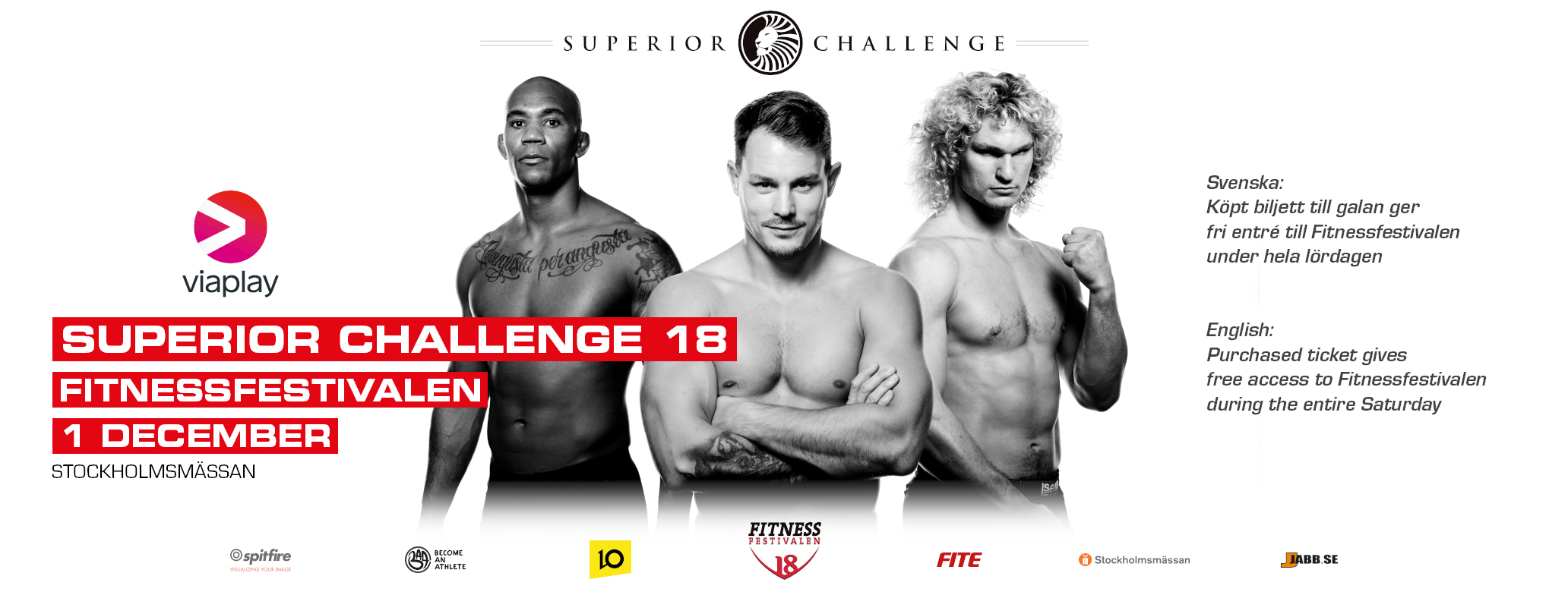 Superior Challenge 18 - December 1 (OFFICIAL DISCUSSION) Promo-superiuor-challenge-18-fitnessfestivalen-scw-poster