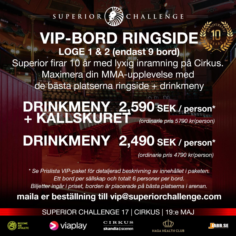 VIP-bord ringside