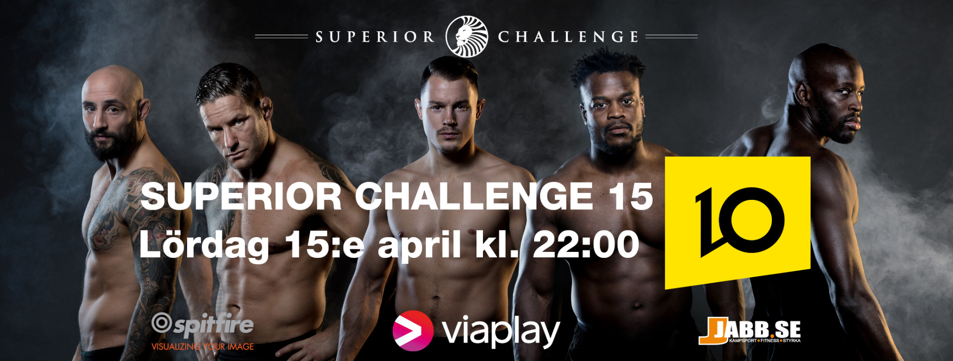 TV-sändning Superior Challenge 15 TV10 15 april 2017