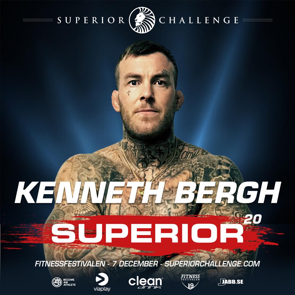 Kenneth Bergh Superior Challenge 20 Fitnessfestivalen