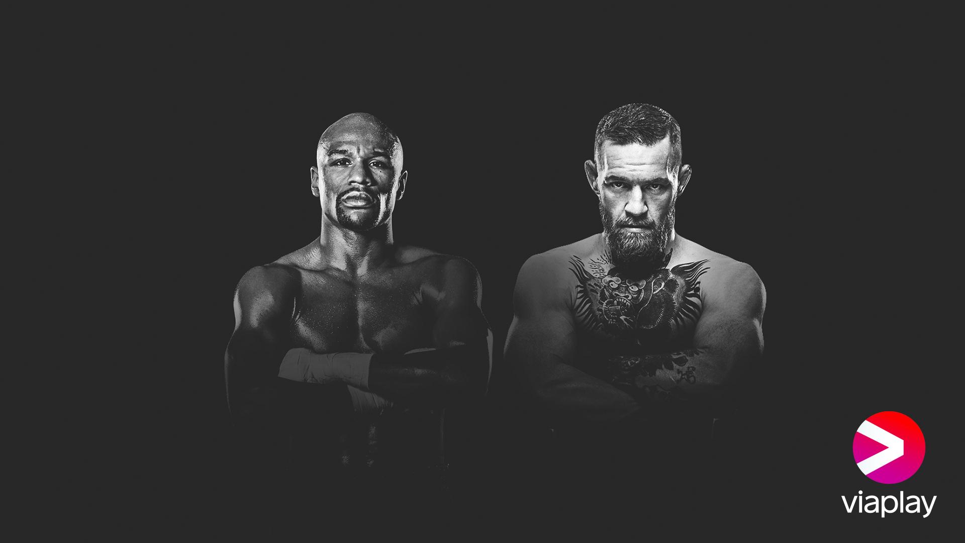 Watch Floyd Mayweather vs Conor McGregor Live on Viaplay