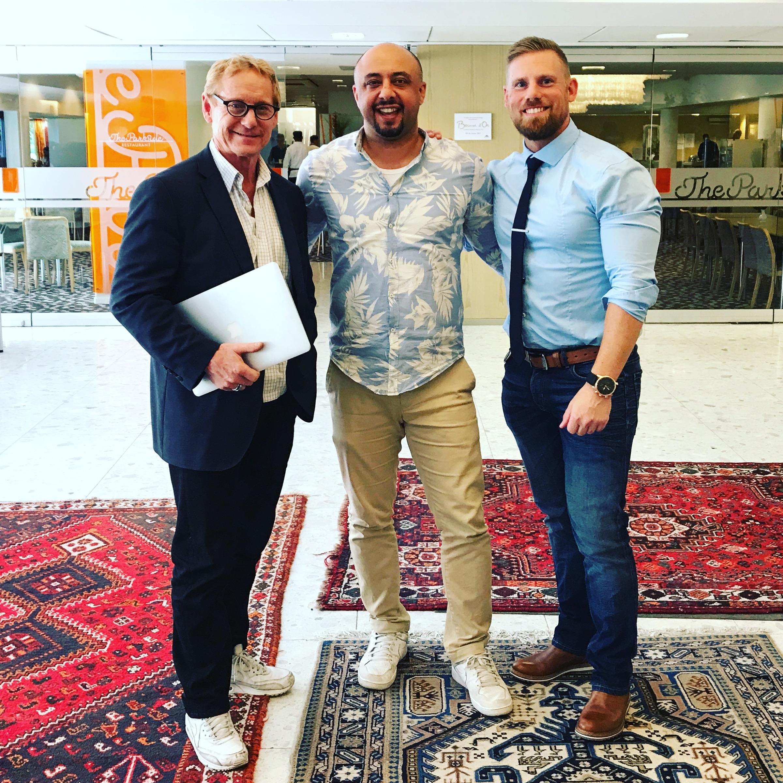 Babak Ashti - Ove Rytter - Kristian Sewén - fitnessfestivalen - superior challenge - stockholmsmässan