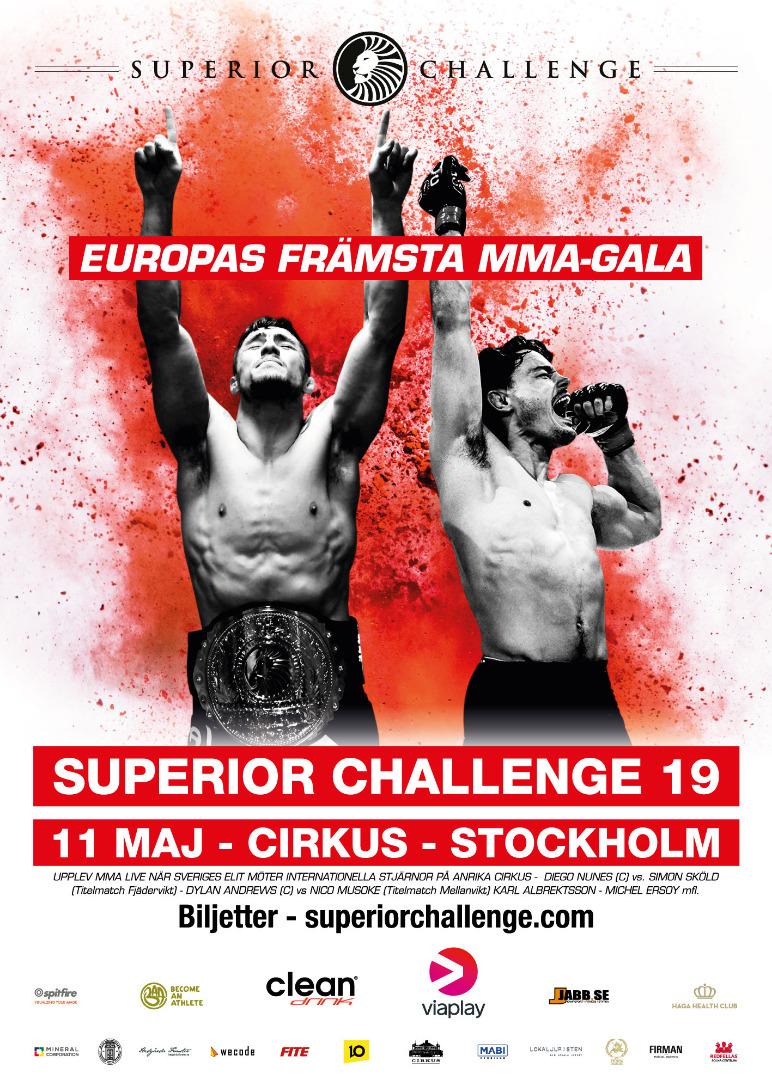 Poster Affisch Superior Challenge 19 Cirkus