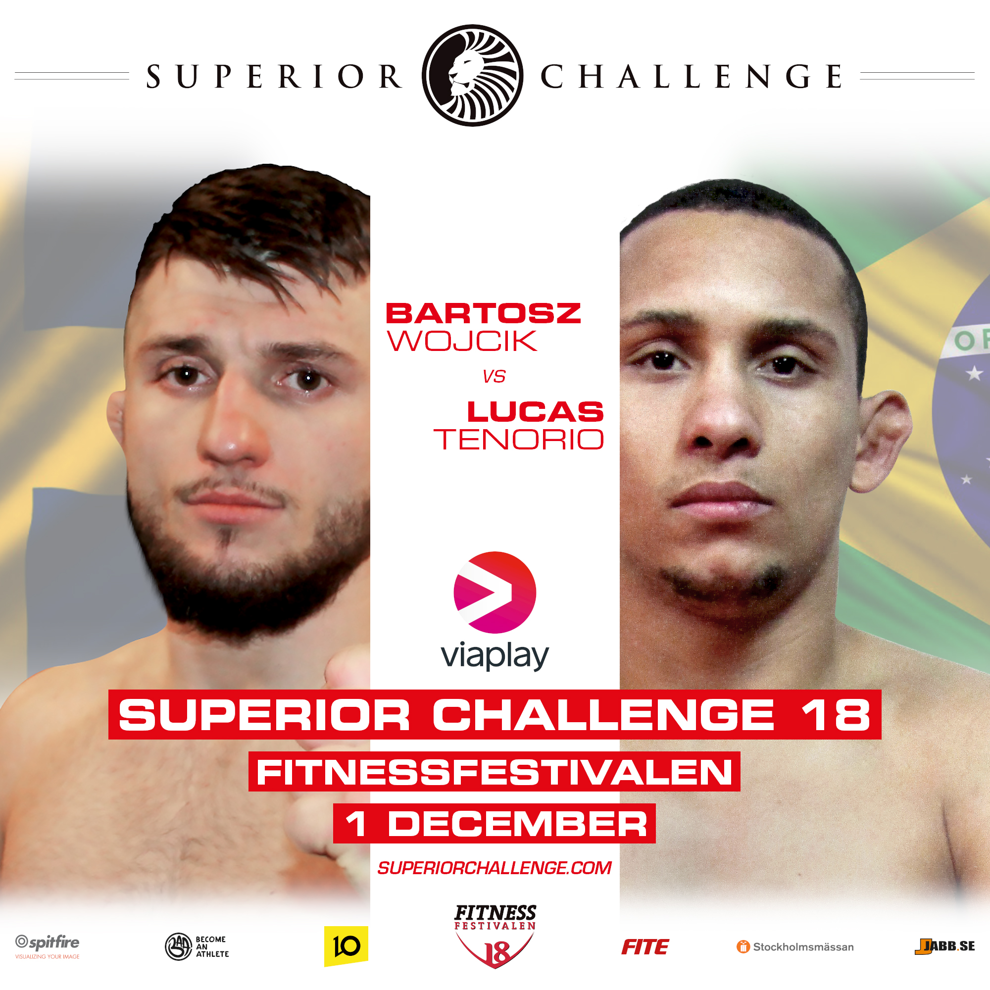 Bartosz Wojcik vs Lucas Tenorio Superior Challenge 18 Fitnessfestivalen