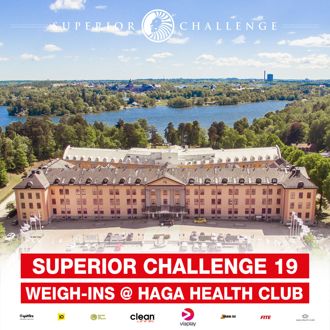 royal park Haga Health Club superior challenge 19 invägning
