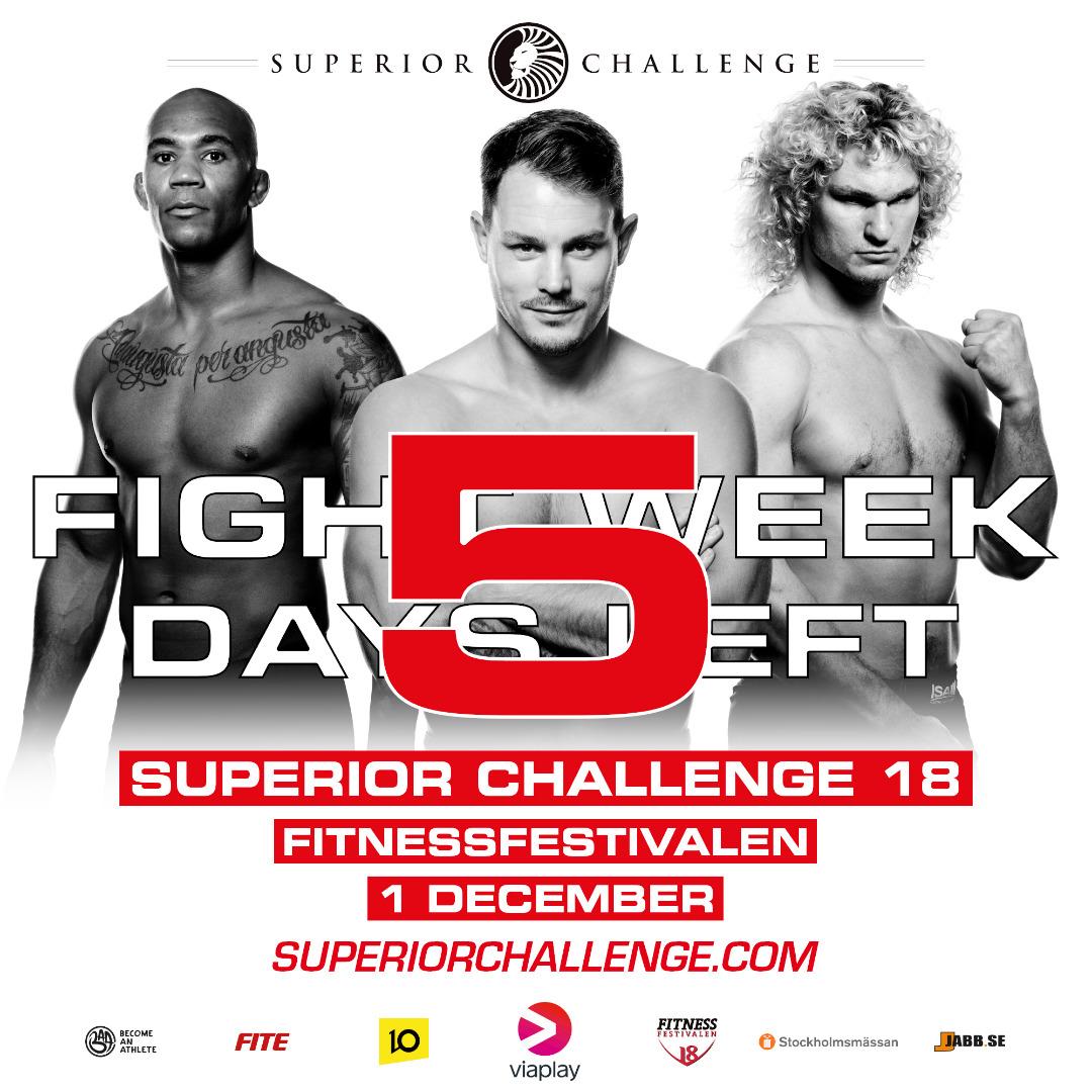 Fight Week superior challenge 18 fitnessfestivalen