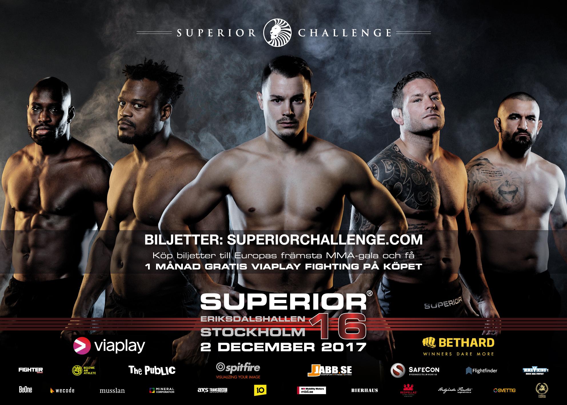 Poster Superior Challenge 16