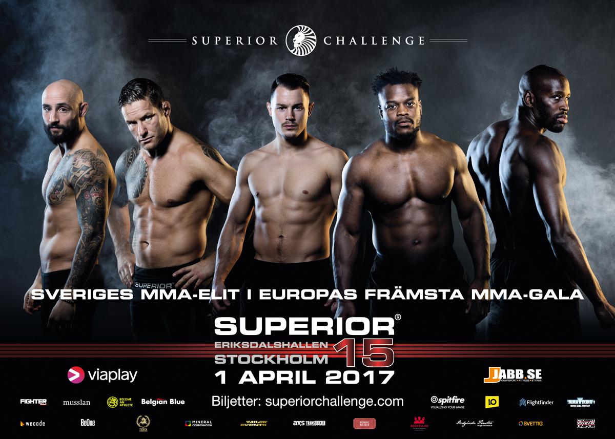 Poster Superior Challenge 15