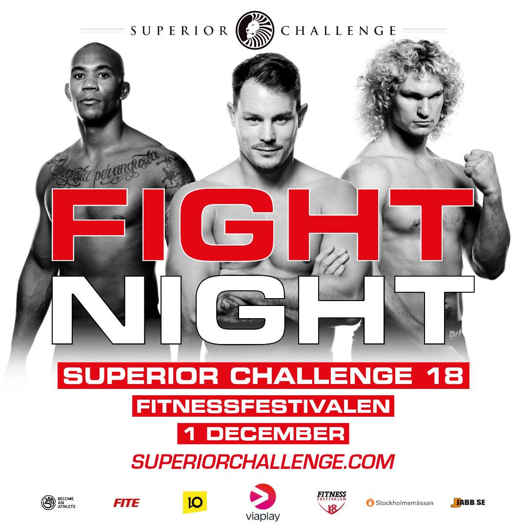 Fight Night Superior Challenge 18 Fitnessfestivalen