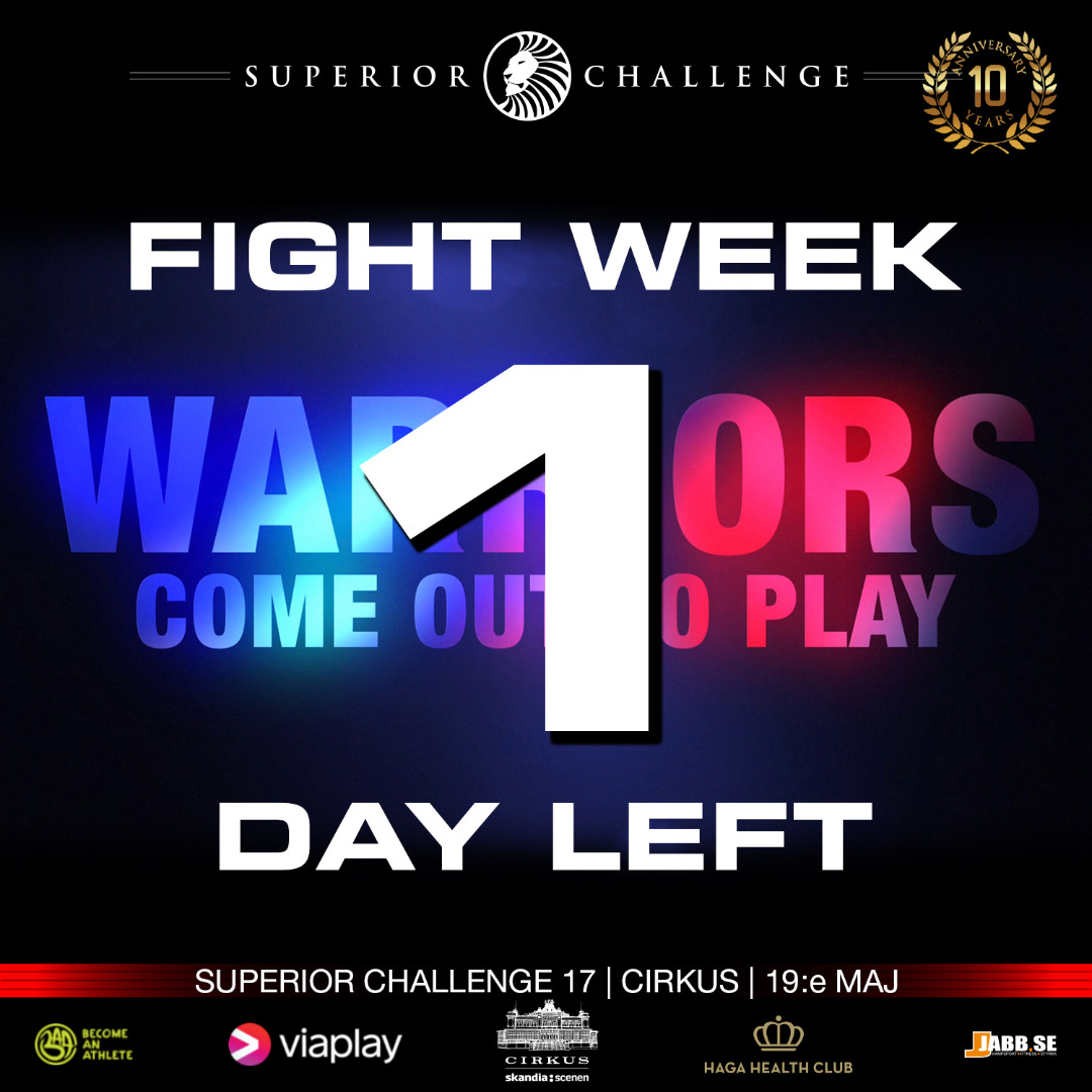 Fight Week - Weigh-Ins Day - Tomorrow Superior Challenge 17 - Cirkus