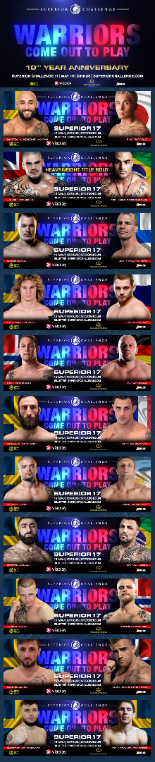 Fight Card Superior Challenge 17 - Cirkus