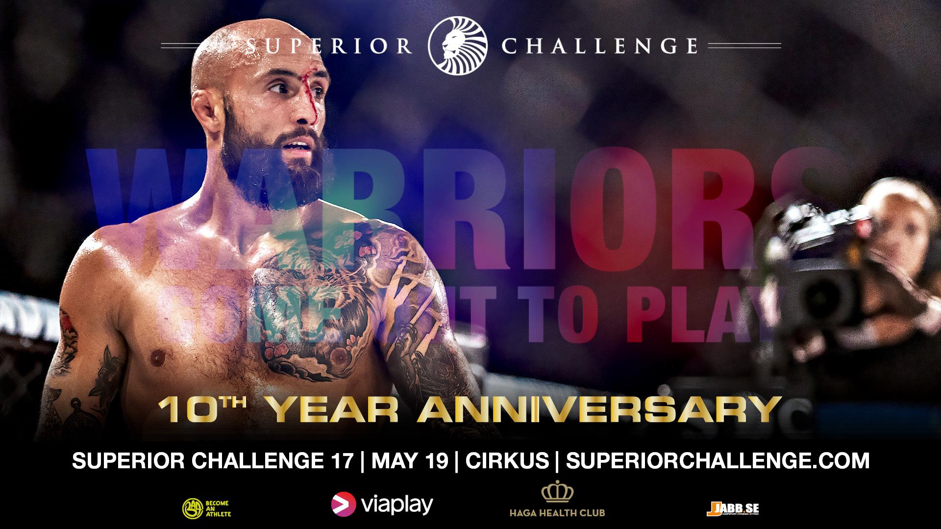 Superior Challenge 17 Cirkus live ppv stream broadcast