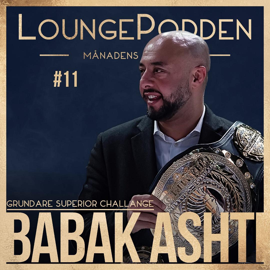 Babak Ashti at LoungePodden