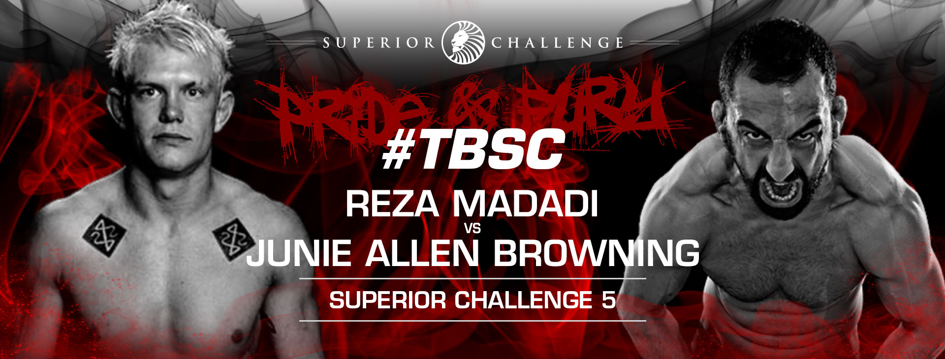 "Watch Reza ""Mad Dog"" Madadi vs Junie Allen ""The Lunatik"" Browning Superior Challenge 5"