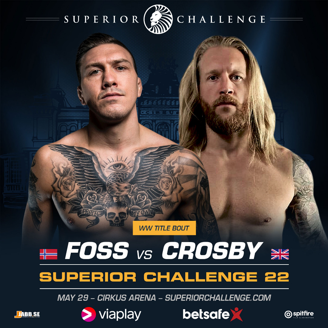 WW Title Bout between Håkon Foss vs Tom Crosby at Superior Challenge 22