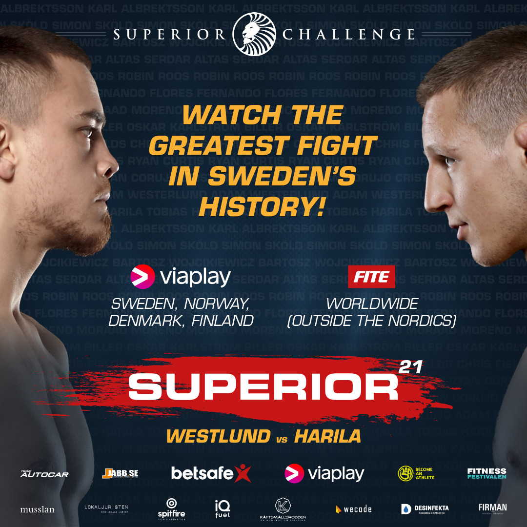 Watch the greatest fight in Sweden's history!