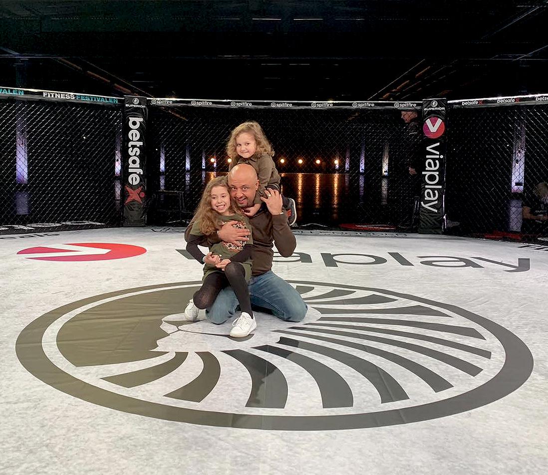 Babak Ashti ny ordförande i Svenska MMA Förbundet