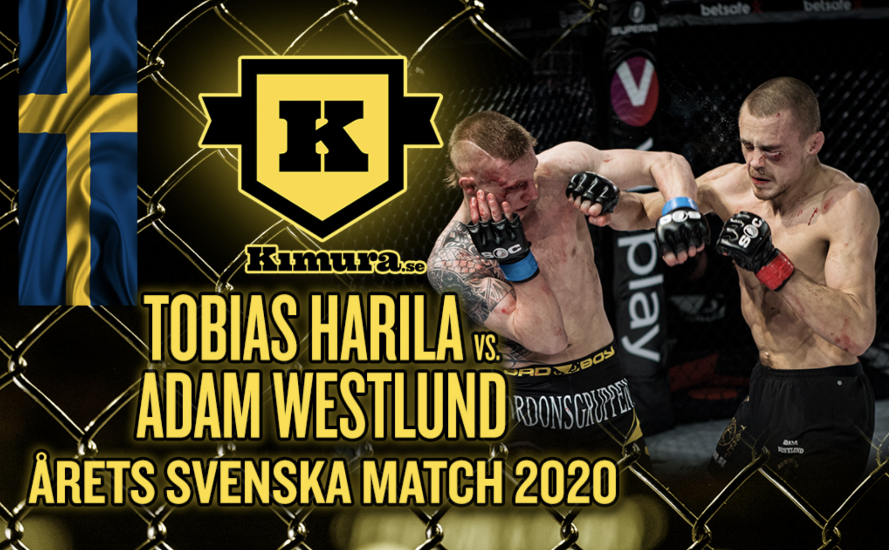 The Best Swedish Fight of the Year 2020 Superior Challenge 21
