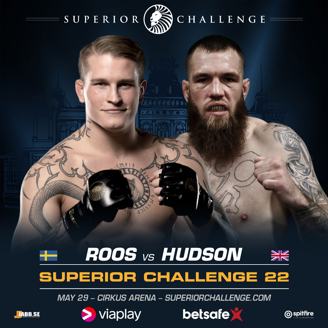 Robin Roos vs Martin Hudson at Superior Challenge 22