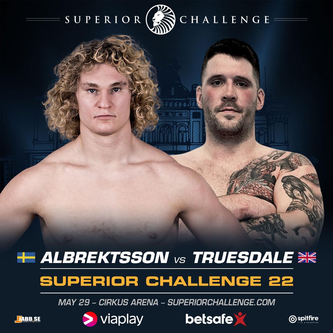 Karl Albrektsson vs Rab Truesdale at Superior Challenge 22