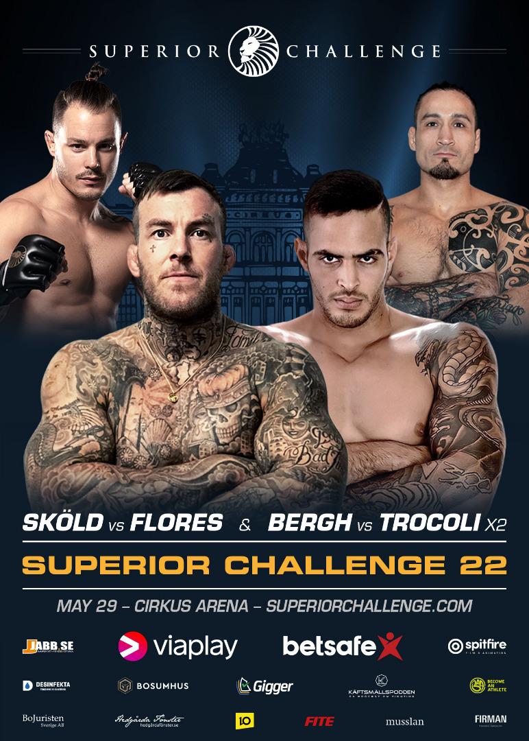 Superior Challenge 22 - Bergh vs Trocoli