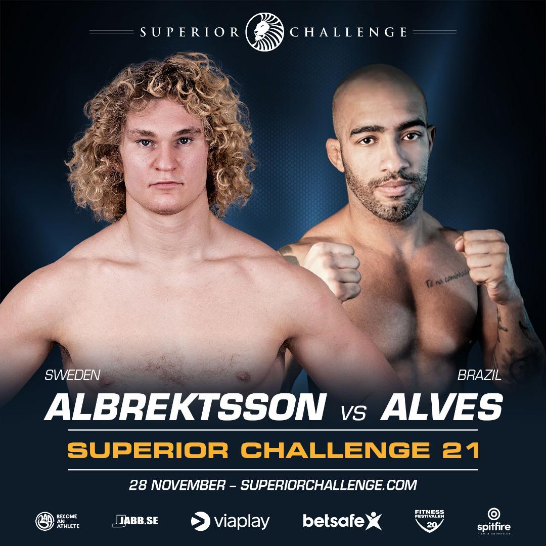 Karl Abrektsson vs Amilcar Alves Superior Challenge 21