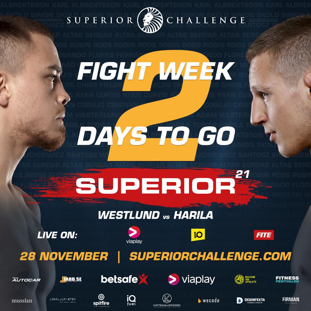 Superior Challenge 21 - fight week, 2 days left