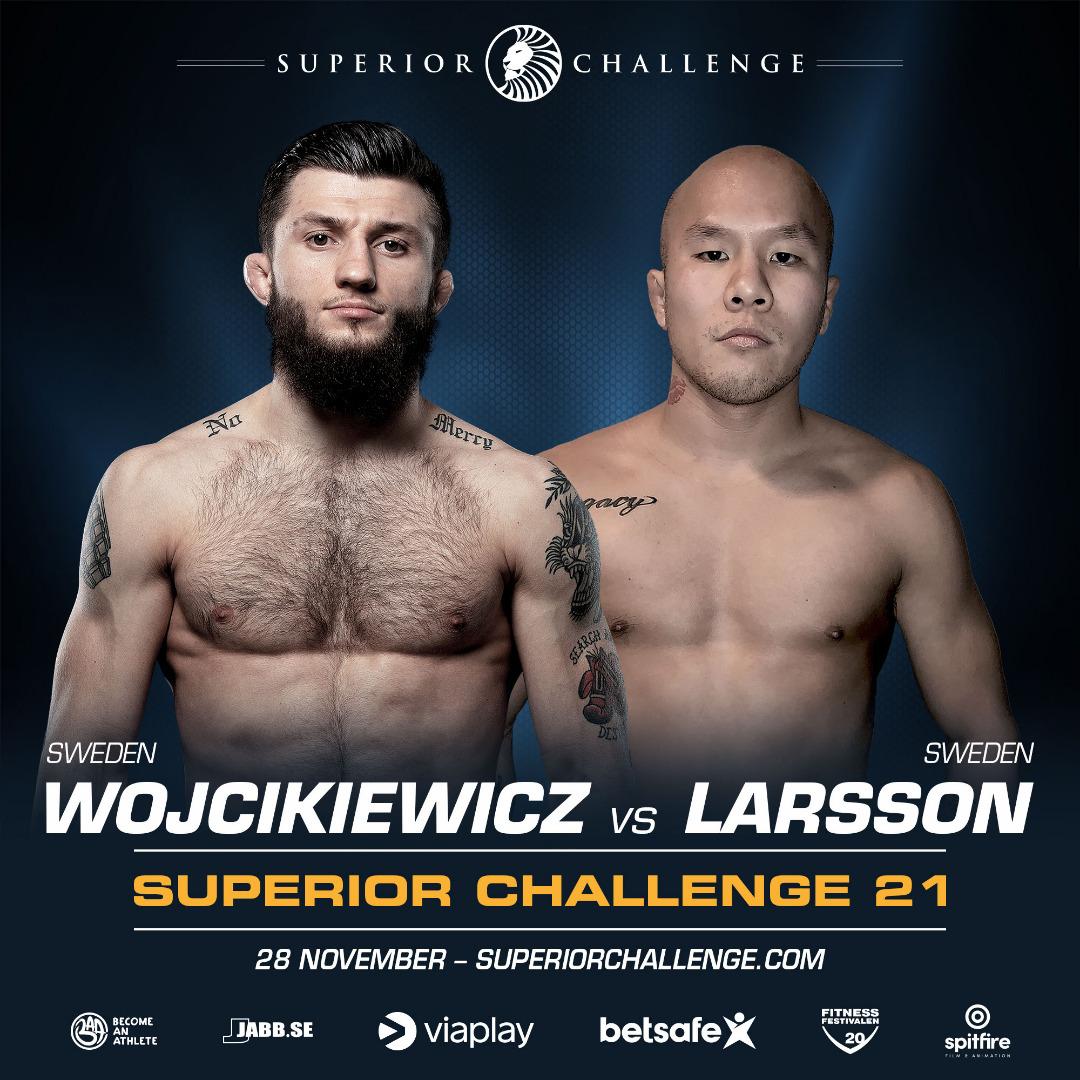 Bartosz Wojcikiewicz vs Anton Larsson at Superior Challenge 21