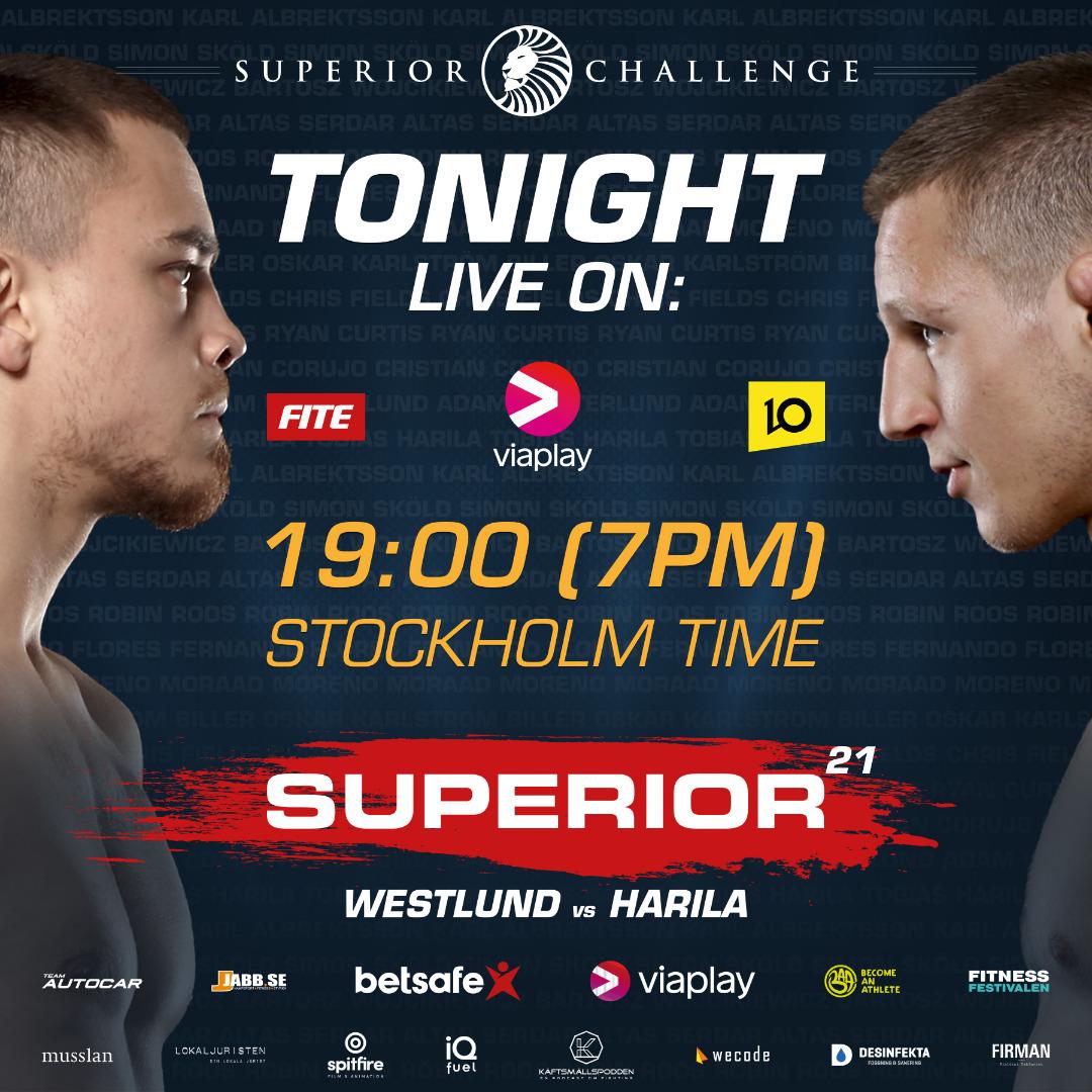 Superior Challenge 21 - Westlund vs Harila